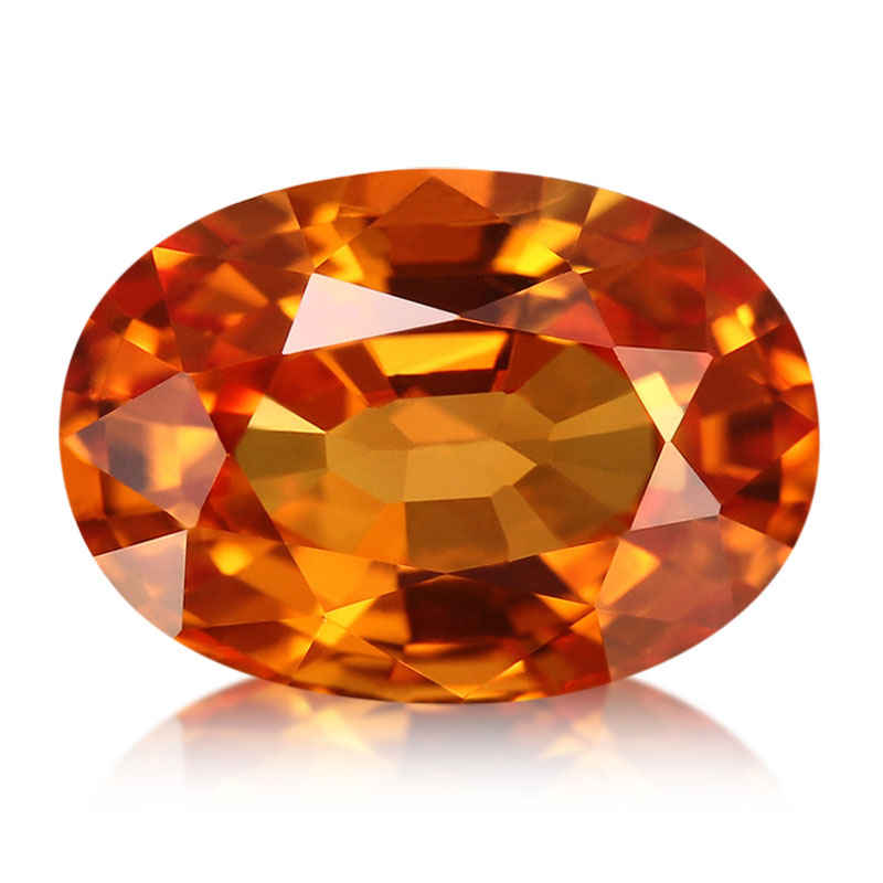 Le Saphir de couleur orange