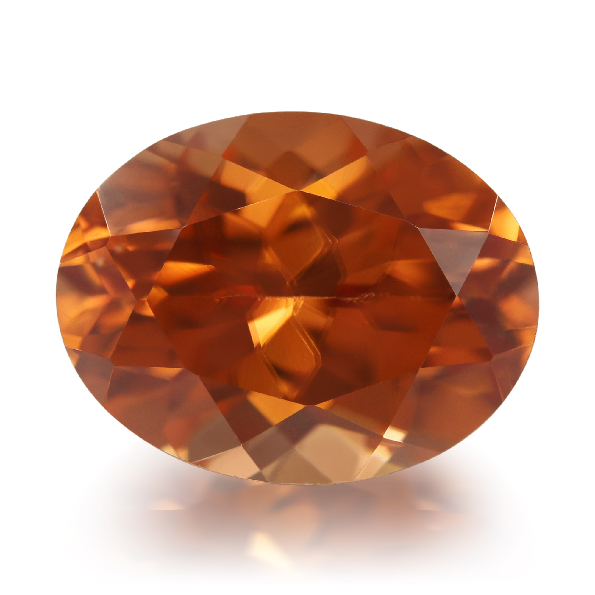 Le Zircon orange de Mashewa